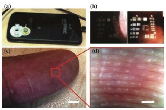 手机变显微镜
